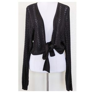 LANE BRYANT Knit Cardigan Shrug NWT